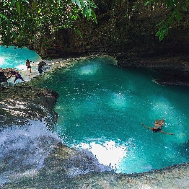 Emerald Pool in Cebu, Philippines #EarthPix Photography by @vitoselma #Padgram
