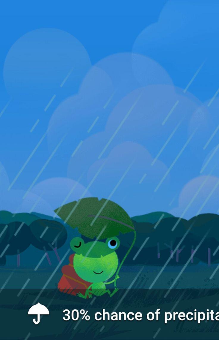 App Google Weather Frog