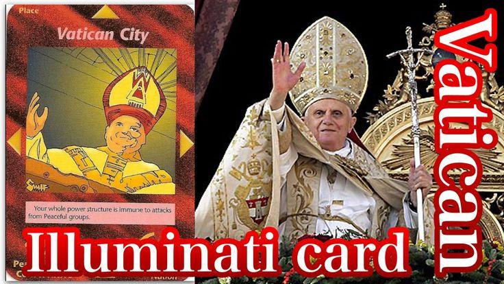 イルミナティ•カードとバチカン(キリスト教) Illuminati card+Vatican(Christianity)