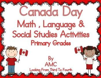This is a great unit to use in June as a review of concepts that have already been taught and to celebrate Canada Day! Many of the activities can be used in centers, pairs, as a whole group or individually.