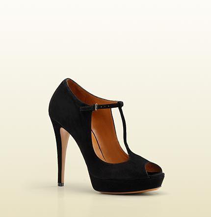 Gucci Peep-Toe Mary Jane's: High Heels Sandals, Tstrap Platform, Heels Platform, Betty T Straps, Shoes Design, Platform Pumps, Gucci Betty, Women High Heels, Betty Tstrap