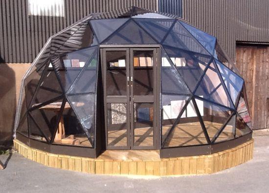 Polycarbonate Half Dome Project