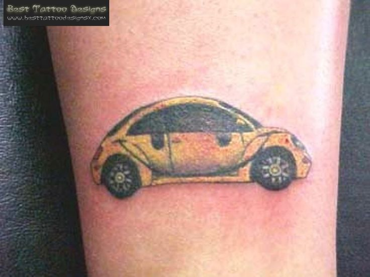 Volkswagon Beetle Tattoo For The Vw Enthusiast