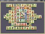 Klasszikus Mahjong játék, több pályából lehet választani.