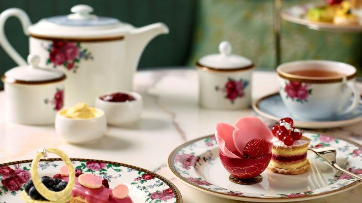 Afternoon Tea with Wedgwood | Sydney Luxury Hotel | The Langham, Sydney