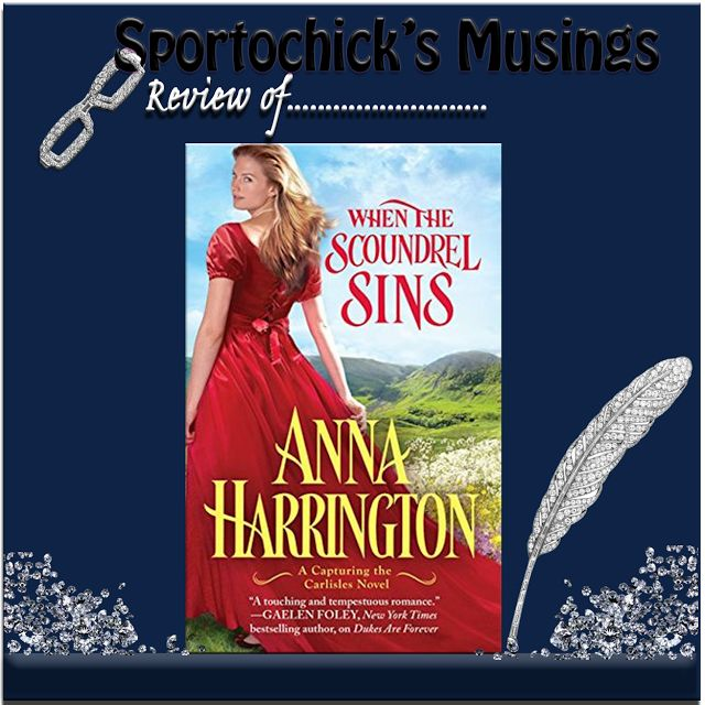 Sportochick's Musings: When the Scoundrel Sins by Anna Harrington