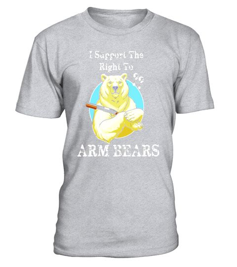 """# I Support The Right To ARM BEARS Gun Rights Parody T Shirt .  Special Offer, not available in shops      Comes in a variety of styles and colours      Buy yours now before it is too late!      Secured payment via Visa / Mastercard / Amex / PayPal      How to place an order            Choose the model from the drop-down menu      Click on """"Buy it now""""      Choose the size and the quantity      Add your delivery address and bank details      And that's it!      Tags: Bear With a Shotgun…"""