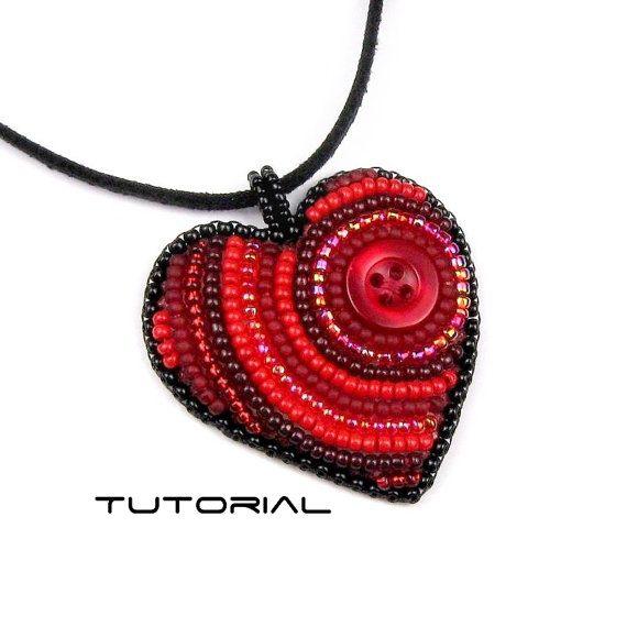 Bästa idéer om bead embroidery tutorial på pinterest