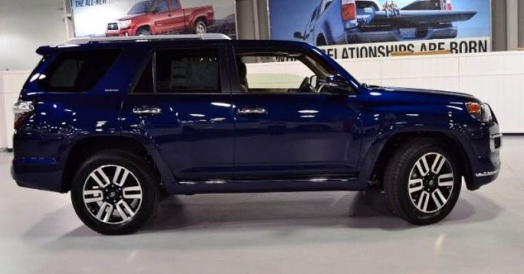 Used Jeeps For Sale >> 2015 Toyota 4Runner Limited Premium, Nautical Blue ...