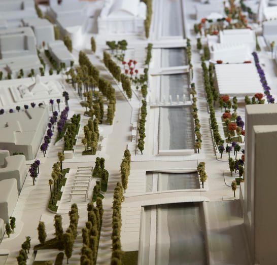 2º Lugar Concurso Explanada de los Mercados _ SHIFT Arquitectos