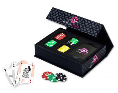 tease & please   Kama Poker DE  Kama Poker ist das ultimative Erotikspiel, in dem sich zwei Welten begegnen: Die Welt des Pokerspiels und die Welt des Kamasutra.Kama Poker ist das ultimative Erotikspiel, in dem sich zwei Welten begegnen: Die Welt des Pokerspiels und die Welt des Kamasutra.