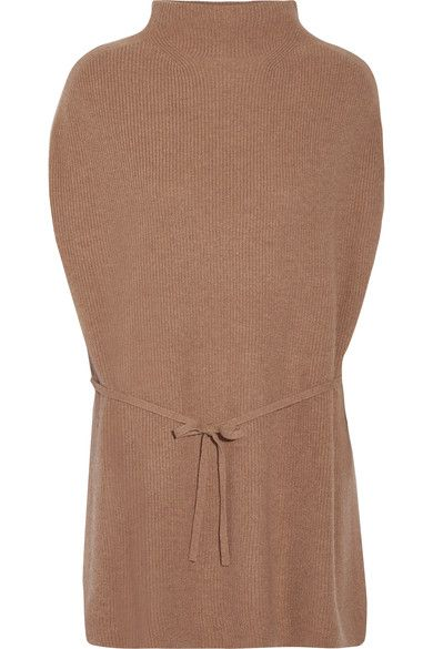 Light-brown cashmere  Slips on  100% cashmere Dry clean Designer color: Heather Butterscotch
