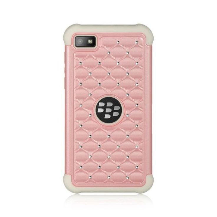 Insten Hard Snap-on Dual Layer Hybrid Case Cover with Diamond For BlackBerry Z10