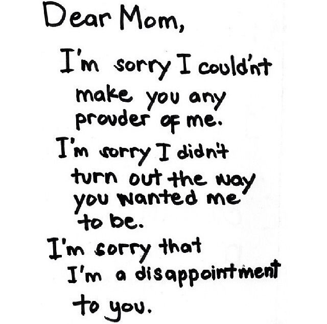 Dear dad i hate you