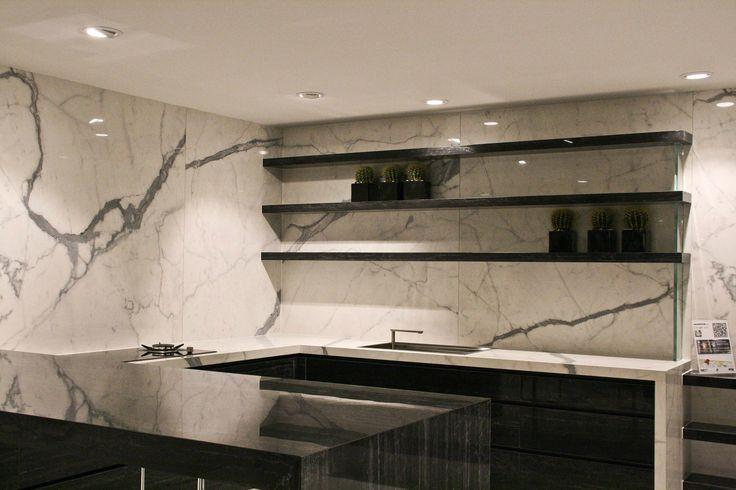 Lauro floor - márvány design konyha