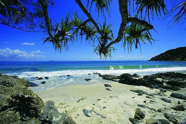 Wategos Beach, Byron Bay, NSW.