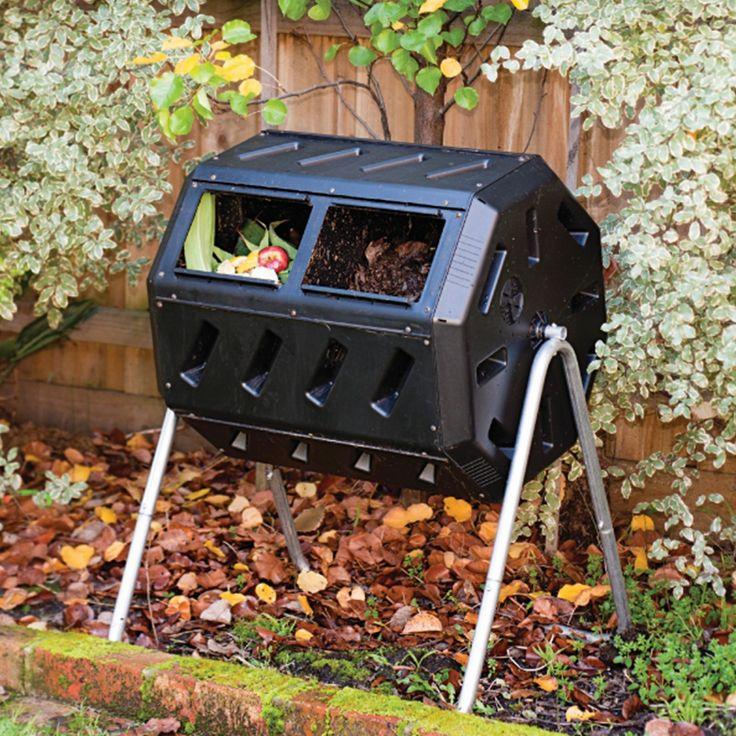 37gallon tumbling compost bin tumbler composter 5 cu ft