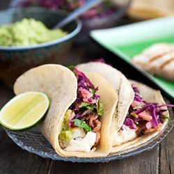 tequila lime halibut tacos + 9 other delicious fish taco recipes