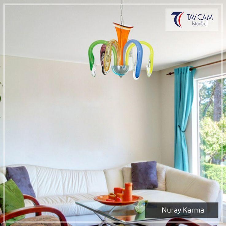 Bütün dikkatleri üzerine çekerek herkesi kendine hayran bırakan Nuray Karma avize.Ürünü detaylı incelemek için linke tıklayın:http://bit.ly/2xOWroY #tavcam #tavcamavizeaydınlatma #plaforyer #plafonyeravize #avizeci #üretim #aydınlatma #dekorasyon #elyapımı #camsanatı #şık #Turkey #exclusive #special #bright #design #art