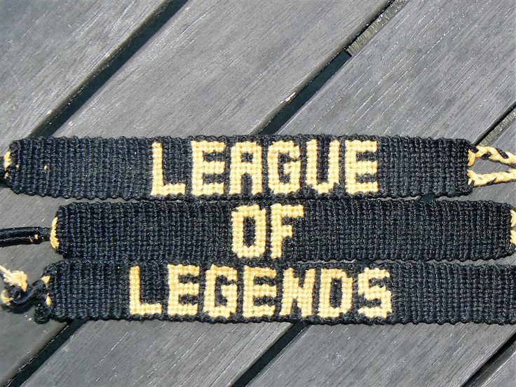 Friendship bracelet- League of legends