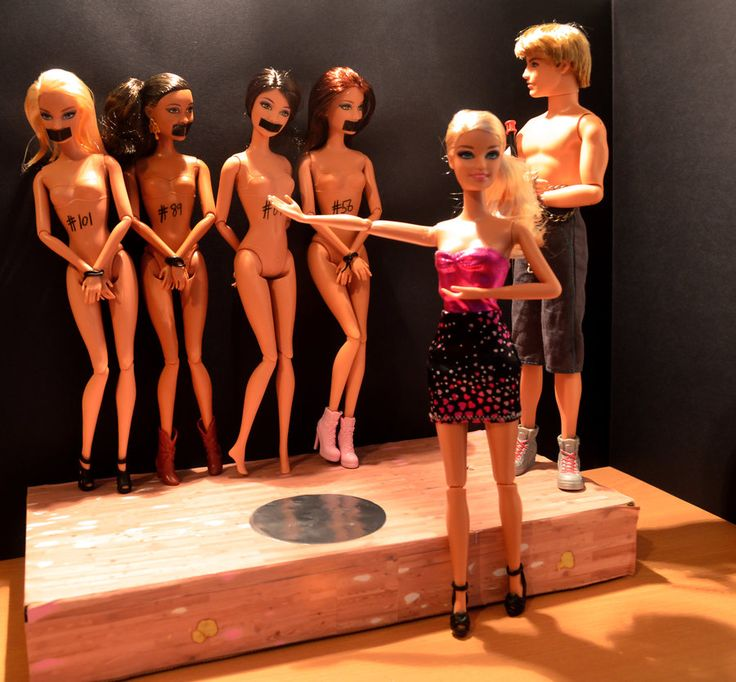 Blackmarket Barbie by VioletCazador