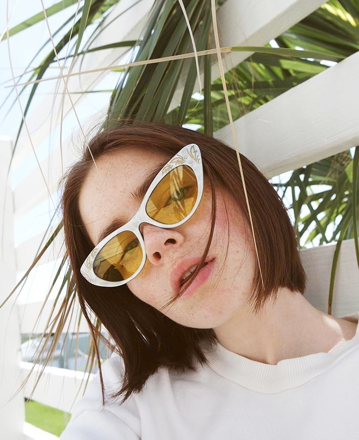 The Sunglasses All Those Really Cool Girls on Instagram Are Wearing via @WhoWhatWearAU