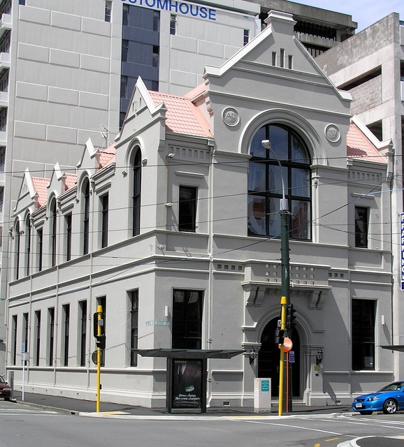 Have always loved this building :)  The Mission To Seamen Building Wellington, New Zealand. photo by Gordon Haws.
