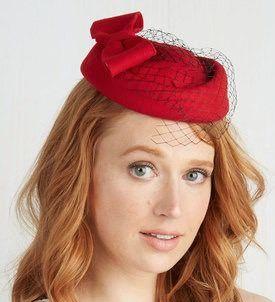 Red Stride Hat