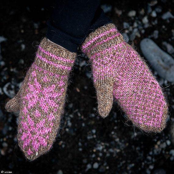 Icelandic Lopi Mittens by unneva on Etsy, $25.00