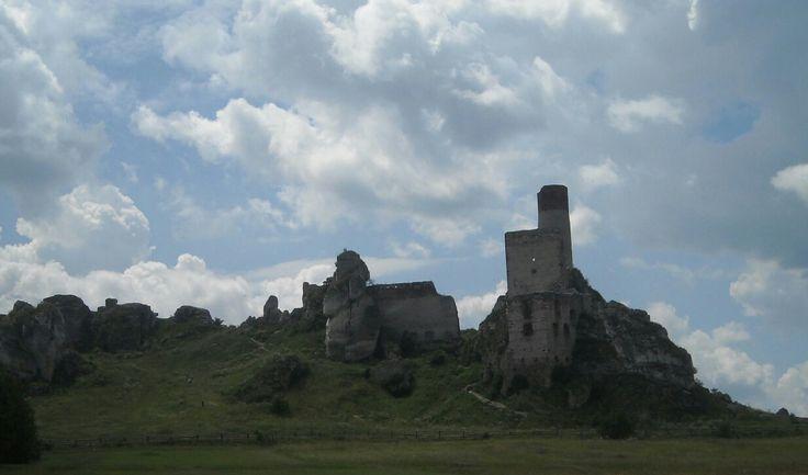 Castle in Olsztyn, Poland