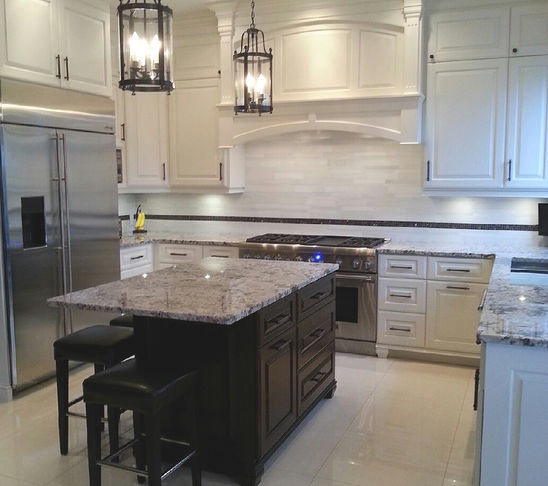 Seating On 2 Sides Of Island Kitchen Remodel Pinterest Photo Tiles Kitchen Tiles And Tile