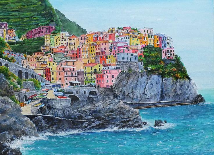 チンクエ・テッレ/イタリア ロマンチックでまるで童話の世界のような水辺にある世界遺産の街7選