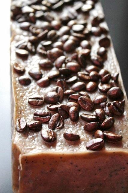 love caffeine soap