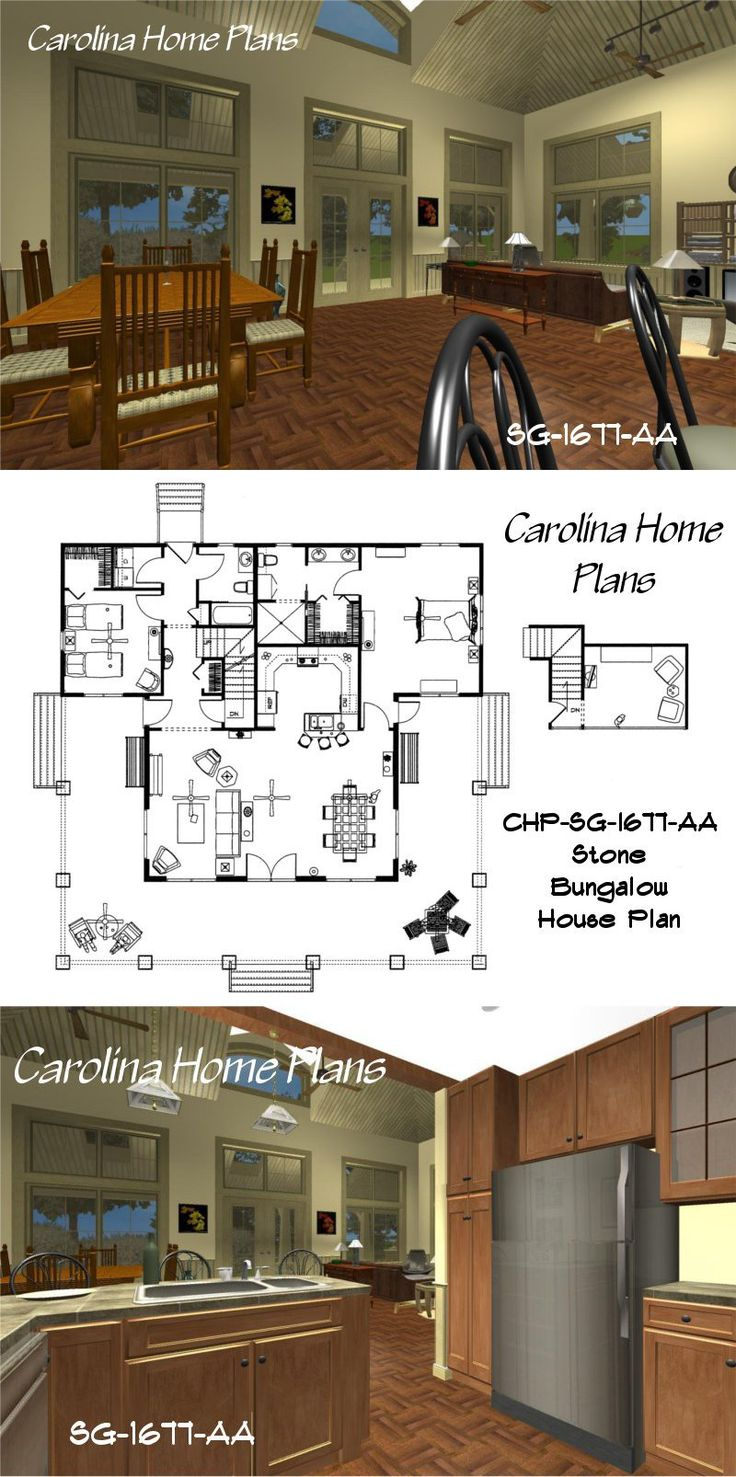 122 best open floor plans images on pinterest open floor plans spacious open kitchen with lunch counter craftsman style house plans