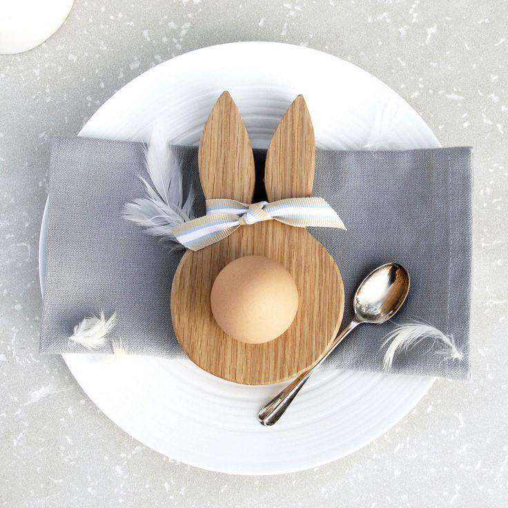 Bunny ears egg cup.