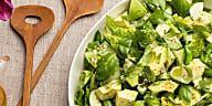 All Green Salad with Citrus Vinaigrette