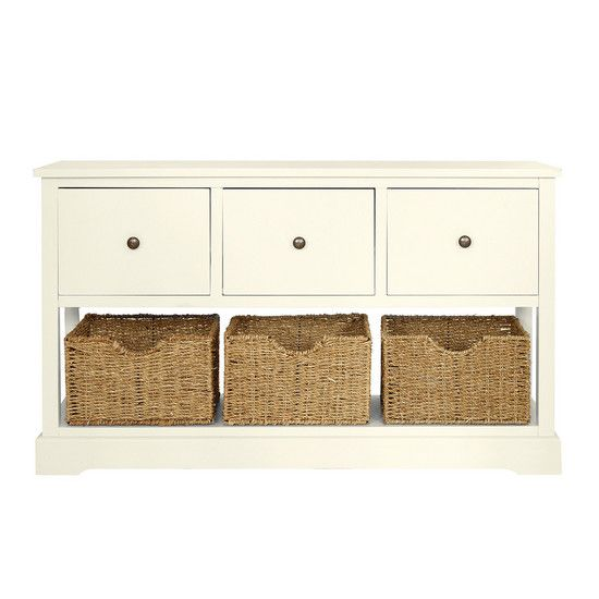 Cottage Ivory Bedroom Furniture Collection | Dunelm