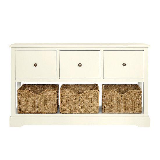 Cottage Ivory Bedroom Furniture Collection | Dunelm