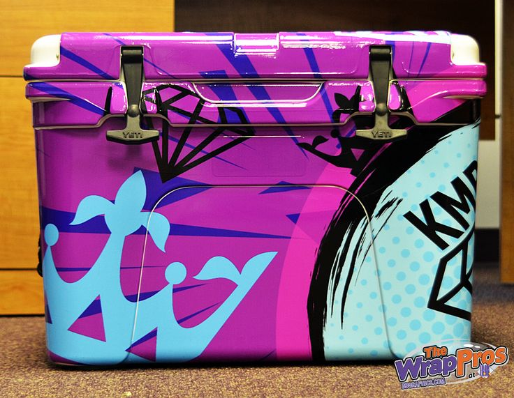 Yeti Cooler Wrap  | The WrapPros @ BB Graphics | bbgraphics.com | #bbgraphics #3MCertified #thewrappros