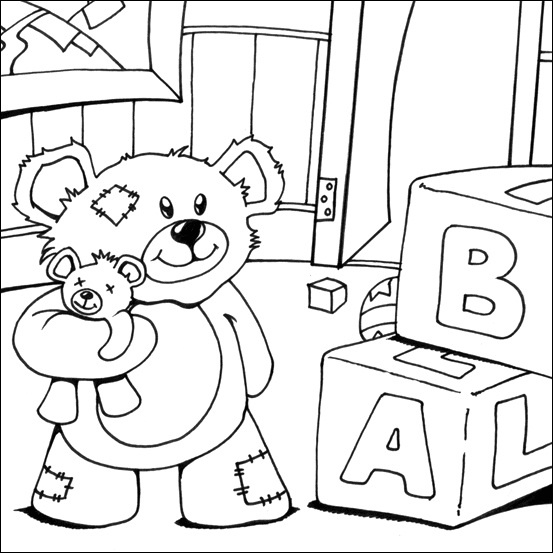 bear coloring pages sparklebox free - photo#45