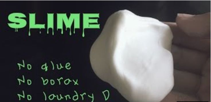 An easy way to make slime without glue, borax, or laundry detergent. It is safe and has only 2 ingredients!  Click the link for brief instructions on how to make it :D