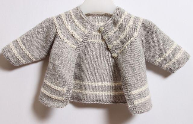Nouveau ! En version française sur Ravelry !  Ravelry: 13 / Little Jacket pattern by Florence Merlin