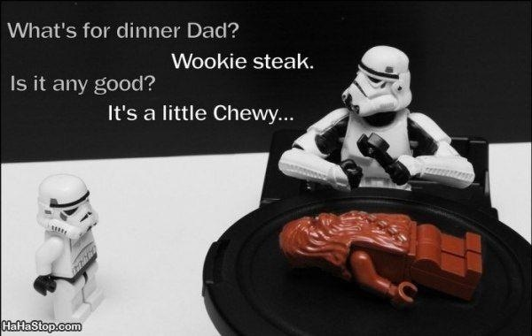 Star Wars jokes? Yes, please!
