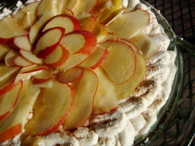 Apple Cider Cream Pie: Cider Cream, Cakes Pies, Cream Pies, American, Cream Pie Note, Apple Cider, Apples, Cobblers Pies Tarts Crisps