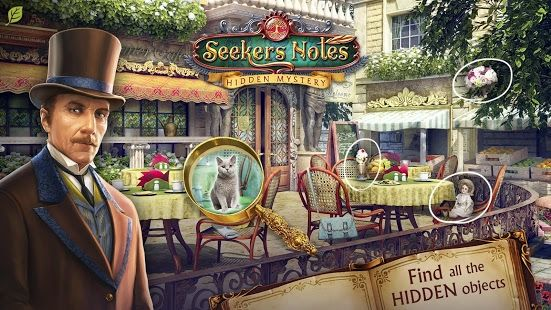 An enthralling new hidden object game from the creators of The Secret Society!