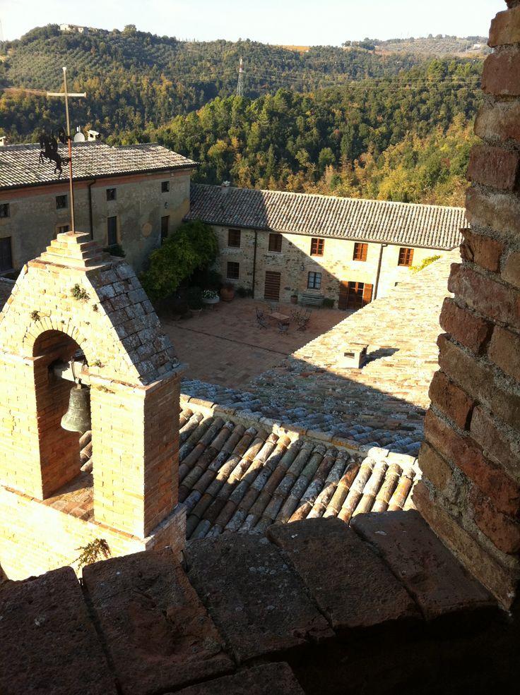 Visita al castello della Sala