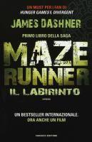 Maze runner. Il labirinto : romanzo / James Dashner ; traduzione dall'inglese di Annalisa Di Liddo  http://opac.provincia.como.it/WebOPAC/TitleView/BibInfo.asp?BibCodes=164925272