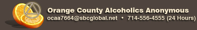 Orange County Alano Clubs.