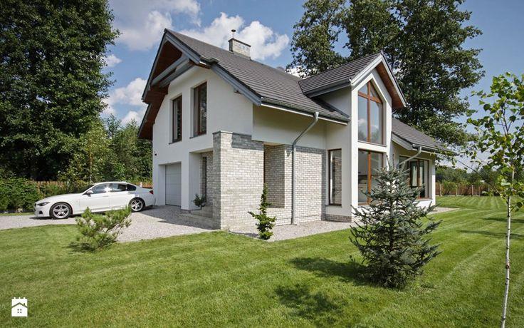 Domy styl Nowoczesny Domy - zdjęcie od DOMY Z WIZJĄ - nowoczesne projekty domów
