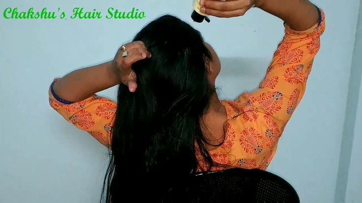Long hair oiling/hair massage/oil treatment for faster growth of hair